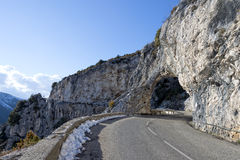 Provence mountain road Royalty Free Stock Images