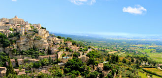 Provence panorama Stock Photography