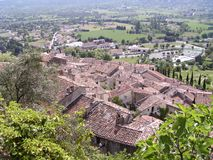 Provence Roofs Stock Photography