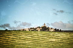 Provence rural landscape Royalty Free Stock Image