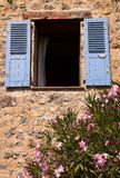 provence slutarefönster Royaltyfri Bild