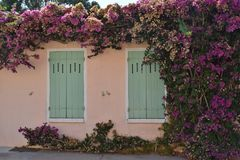 Provence-stijl huis Stock Foto's