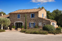 Provence stone house Royalty Free Stock Photography
