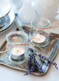 Provence style table setting Royalty Free Stock Images