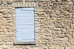 Provence style window Stock Photos