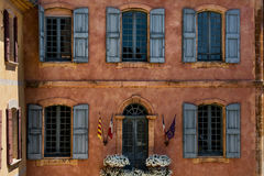 Provence and their old village windows Royalty Free Stock Photos
