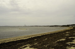 Provence town Cape Cod beach view Stock Photo