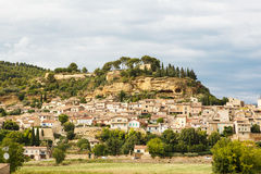 Provence village Gordes scenic overlook Stock Image