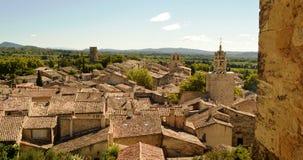 Provence villsage Arkivfoto