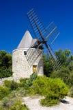 provence windmill royaltyfria foton