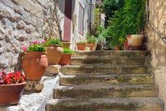 Provence wioska, Francja Obraz Stock