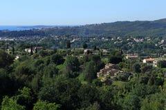 Provence y el Cote d'Azur Foto de archivo libre de regalías