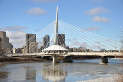 The Provencher Bridge Royalty Free Stock Images