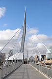 The Provencher Bridge Stock Image