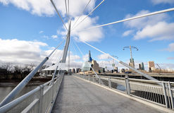 The Provencher Bridge Stock Images