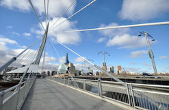 The Provencher Bridge Stock Photo