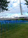 The Provencher Bridge Royalty Free Stock Photos