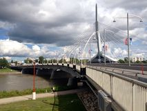 The Provencher Bridge Stock Photography