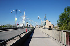 Provencher Bridge and Museum of Human Rights Stock Photography