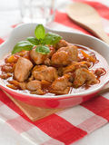 Provencial chicken stew Royalty Free Stock Images
