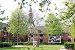 Proveniers庭院在哈莱姆,荷兰 图库摄影