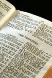 Proverbes de série de bible Photographie stock libre de droits