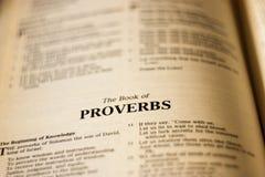 Proverbs Royalty Free Stock Photos