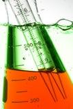 Provetta chimica Fotografia Stock