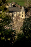 Provicial castle in Provence, France. Shot in a quiet morning just about when sun was about to go up Stock Photo