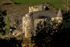 Provicial castle in Provence, France Royalty Free Stock Image
