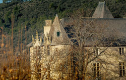 Provicial castle in Provence, France Royalty Free Stock Photography