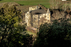 Provicial slott i Provence, Frankrike Arkivbild