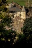 Provicial slott i Provence, Frankrike Arkivfoto