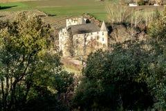 Provicial slott i Provence, Frankrike Royaltyfri Bild
