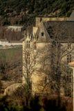 Provicial slott i Provence, Frankrike Royaltyfria Bilder