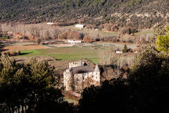 Provicial stad i Provence, Frankrike Arkivfoto