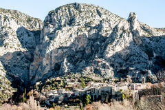 Provicial stad i Provence, Frankrike Royaltyfria Bilder