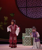 "Provide an explanation Hong Niang-Kunqu Opera ""the West Chamber"" Royalty Free Stock Photos"