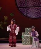 """Provide an explanation Hong Niang-Kunqu Opera """"the West Chamber"""". In May 17, 2015, the Suzhou Kunqu opera classic Kunqu Opera Xixiangji staged in royalty free stock photos"""