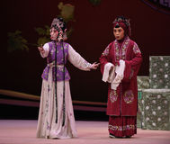 "Provide an explanation Hong Niang-Kunqu Opera ""the West Chamber"" Royalty Free Stock Images"