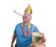 Provide party man Royalty Free Stock Images
