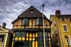 The Providence Art Club in Providence, Rhode Island. Royalty Free Stock Photo