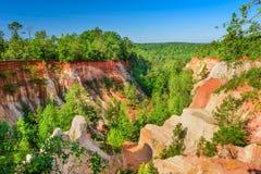 Providence Canyon, Georgia Stock Image
