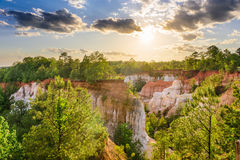 Providence Canyon Georgia Stock Images
