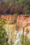 Providence Canyon State Park in Lumpkin Georgia USA is also known as Little Grand Canyon. Image shows the erosion and the layers stock photos