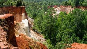 Providence Canyon, USA Royalty Free Stock Photo