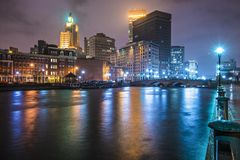 Providence Cityscape Royalty Free Stock Photography