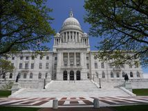 Providence de construction capital, RI image libre de droits