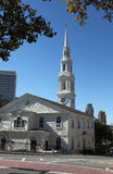Providence. First Baptist Church in Providence near Brown University Stock Images