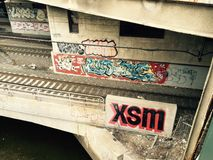Providence-grafittis Stockfotografie